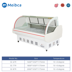 Deli Butcher Equipment Meat Display Chiller